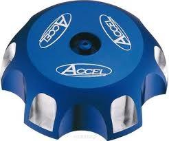 Accel korek wlewu paliwa - Kawasaki KLX 110 (02-10) - niebieski