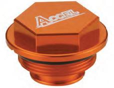 Accel tylna pokrywa pompy hamulcowej - KTM 450EXC/SX (03-06)
