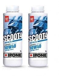Ipone Scoot 4T 10W40 półsyntetyczny olej do skuterów 4-suwowych 2L