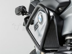 CRASHBAR/GMOL GÓRNE BMW R 1200 GS (13-16) BLACK SW-MOTECH
