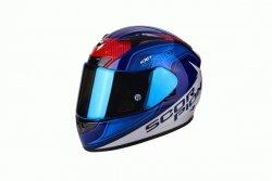 SCORPION KASK MOTOCYKLOWY EXO-710 AIR MUGELLO BLUE-WHITE