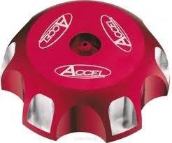 Accel korek wlewu paliwa - Honda TRX 400EX (99-10) - czerwony