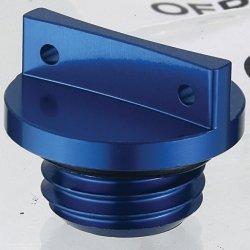 Accel korek wlewu oleju - niebieski (Gwint M20X2,5)
