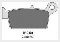 Delta Braking HONDA 250 CR (87-94) klocki hamulcowe tył