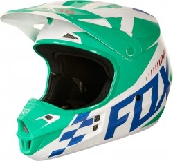 FOX KASK V1 SAYAK GREEN