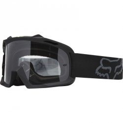 FOX GOGLE JUNIOR AIR SPACE BLACK MATT-SZYBA CLEAR