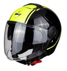 Scorpion kask motocyklowy EXO-CITY AVENUE BK METAL-YEL NEON