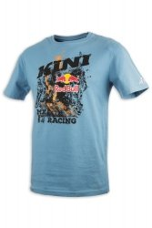 KINI RED BULL Underworld T-Shirt koszulka niebieska