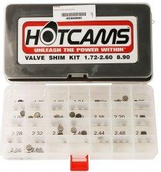 HOT CAMS Zestaw Komplet płytek zaworowych średnica 8,90mm (szer. od 1,72 do 2,60mm)