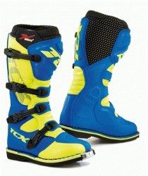 TCX BUTY CROSSOWE X-BLAST ROYAL BLUE/YELLOW FLUO