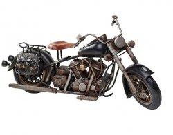 Model motocykla Retro Bike Custom czarny