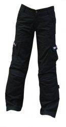 Mottowear Nami jeansy spodnie motocyklowe damskie - czarne XXS WYPRZEDAŻ!!!