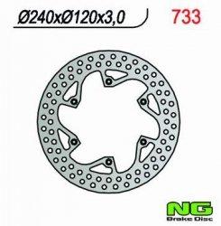 Tarcza hamulcowa przednia Husqvarna TE 610 (91)