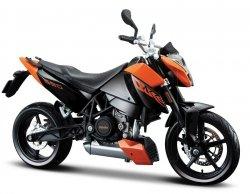 Model motocykla KTM 690 Duke Skala 1:12