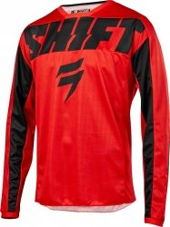BLUZA SHIFT WHIT3 YORK RED XL