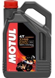 Motul 7100 Ester 20W50 olej syntetyczny do silników 4-suwowych 4L