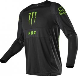 BLUZA FOX 360 MONSTER PC BLACK