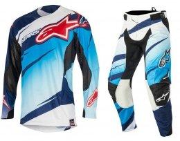 Alpinestars Techstar Venom spodnie motocyklowe 32 + bluza motocyklowa M - Komplet odzieży MX enduro Wyprzedaż Kolekcji!