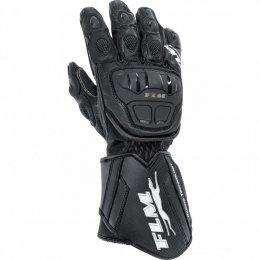 FLM GP 6 rękawice motocyklowe czarne