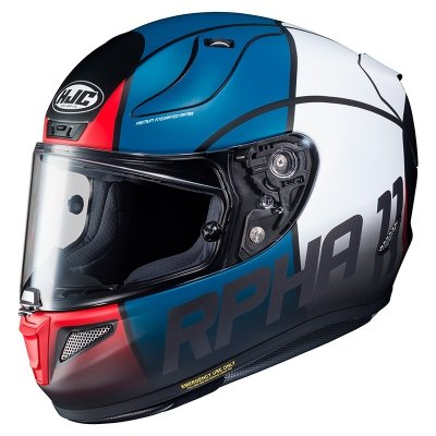 HJC R-PHA-11 KASK MOTOCYKLOWY QUINTAIN WHITE/BLUE/RED