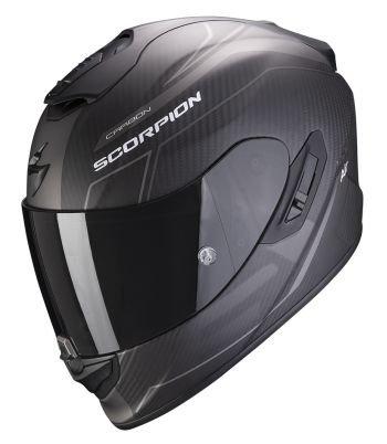 SCORPION KASK MOTOCYKLOWY EXO-1400 CARBON BEAUX MAT BK-SLIV