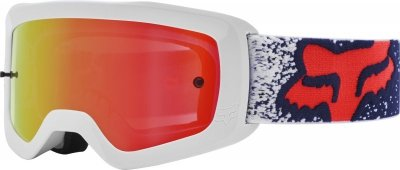 Gogle Fox Main Bnkz Se Grey - Szyba Chrome Mirror