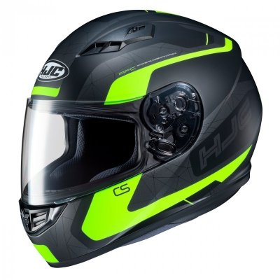 KASK HJC CS-15 DOSTA BLACK/FLO YELLOW M