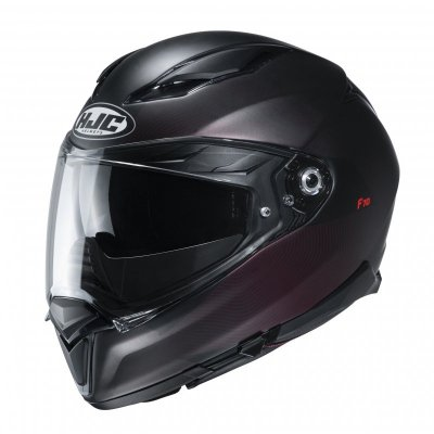 KASK HJC F70 SAMOS BLACK/RED L