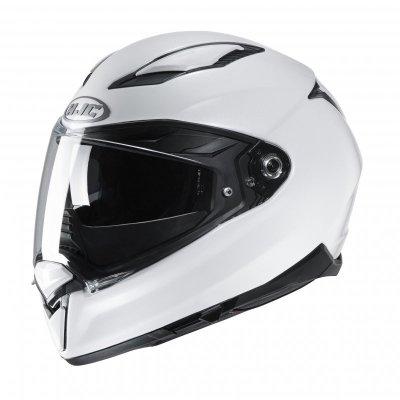 KASK HJC F70 PEARL WHITE L