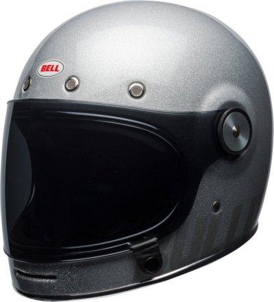 BELL BULLITT DLX FLAKE SILVER KASK MOTOCYKLOWY