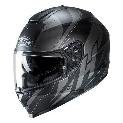 HJC C70 Kask Motocyklowy BOLTAS BLACK/GREY