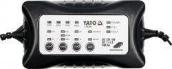 YATO PROSTOWNIK ELEKTRONICZNY  6V / 12V  4A  0-200Ah MOKRY/ŻELOWY/AGM 8300