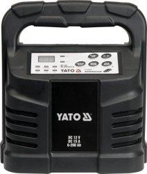 YATO PROSTOWNIK ELEKTRONICZNY 12V  15A  6-200Ah MOKRY/ŻELOWY/AGM  8303