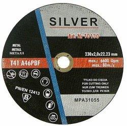 TARCZA DO CIĘCIA METALU 230 x 1,9 x 22,2mm