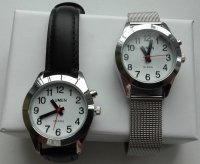 Damski zegarek mówiący TEMPUS na pasku