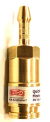 Korpus szybkozłączki DKTU 6,3mm EN 561-N