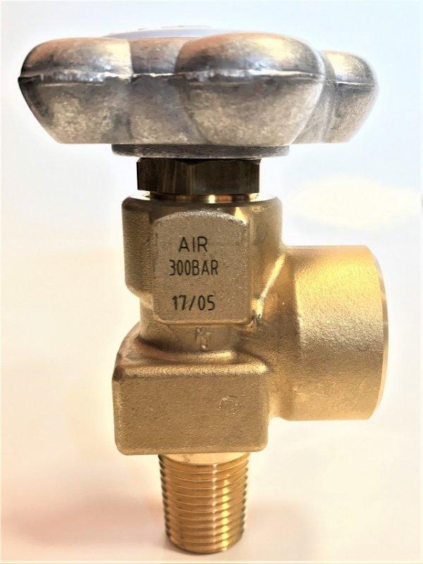 Zawór powietrzny AIR 17E (mały czop), G5/8, 300 bar GCE