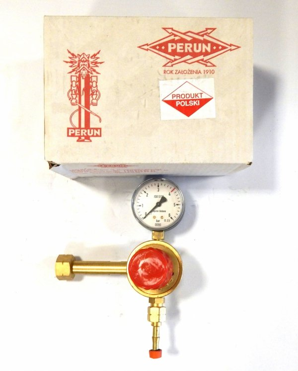 Reduktor jednostopniowy do propanu-butanu Perun
