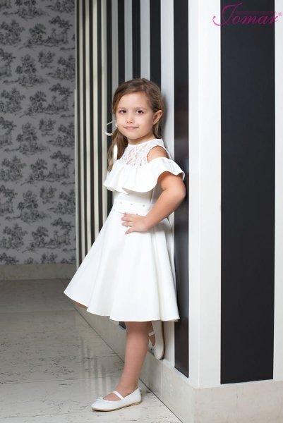 3c30d885f7 Sukienka Hiszpanka 857k Komunia 2019 Dziewczynka 92 158