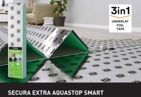PODKŁAD ARBITON SECURA EXTRA AQUASTOP SMART gr. 3 mm