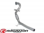 Downpipe przelot rura elastyczna RAGAZZON EVO LINE sportowy wydech