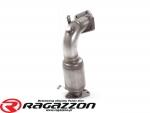 Katalizator metaliczny 63,5 mm RAGAZZON EVO LINE sportowy wydech