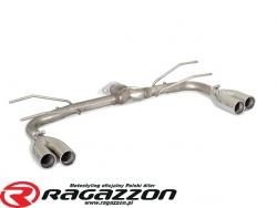 Tłumik końcowy przelotowy podwójny RAGAZZON EVO LINE sportowy wydech