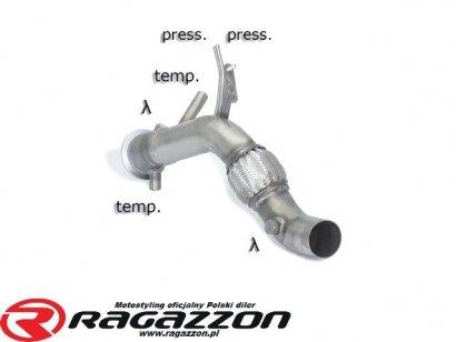 Katalizator przelotowy / filtr DPF RAGAZZON EVO LINE