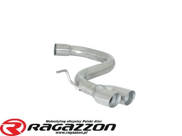 Tłumik końcowy przelotowy RAGAZZON Volkswagen Golf V 2.0 Turbo FSI GTI sportowy wydech