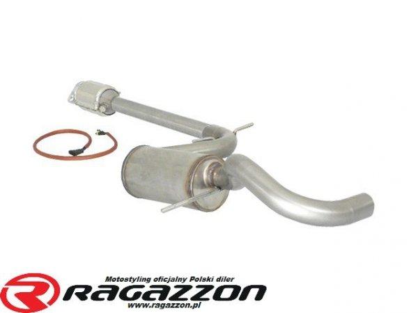 Katalizator metaliczny + tłumik środkowy RAGAZZON EVO LINE sportowy wydech