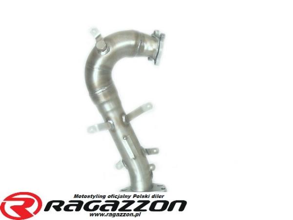 Downpipe kit katalizator przelotowy TD04 RAGAZZON EVO LINE sportowy wydech