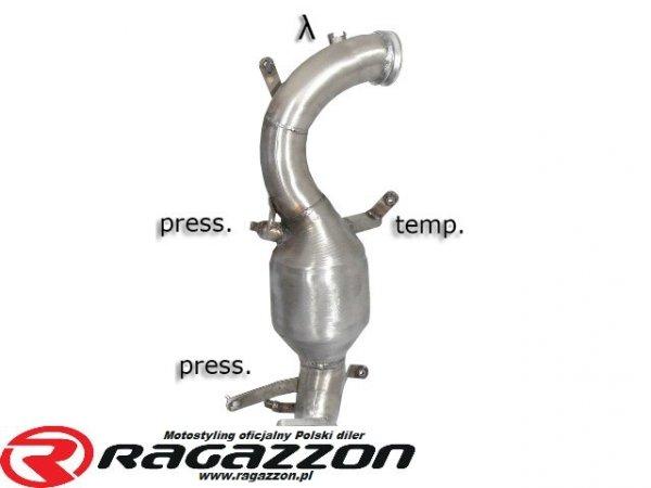 Katalizator / filtr DPF RAGAZZON EVO LINE sportowy wydech