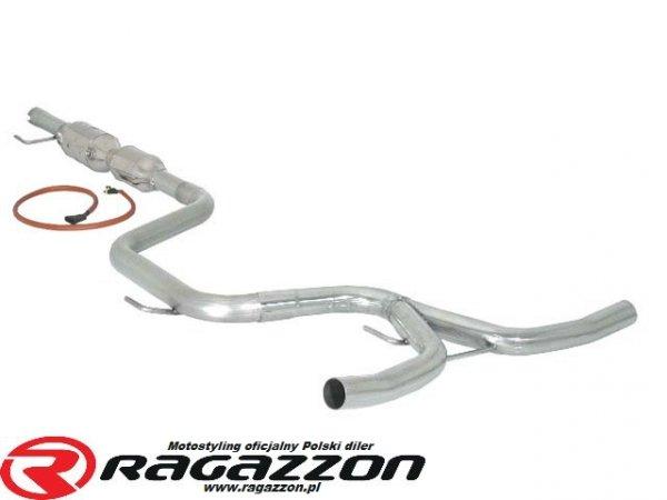 Sportowy wydech + katalizator metaliczny RAGAZZON EVO LINE sportowy wydech