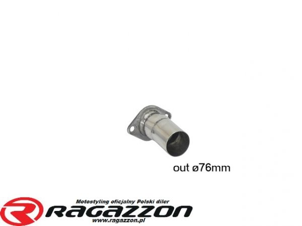 Adapter / przejściówka wydechu RAGAZZON EVO LINE sportowy wydech